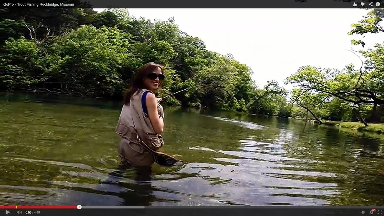 Fishing rockbridge part 1 youtube for Missouri out of state fishing license