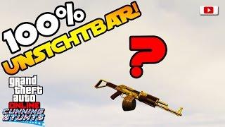 GTA 5 Online - Bester 100% Unsichtbar Trick! [SOLO, Patch 1.35, Fun Glitch, PlayStation 4]