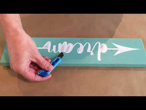 How To make Wood Signs | Homeworks Etc DIY Kit