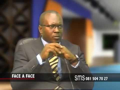 Face à Face  avec Jan Jacques Mamba