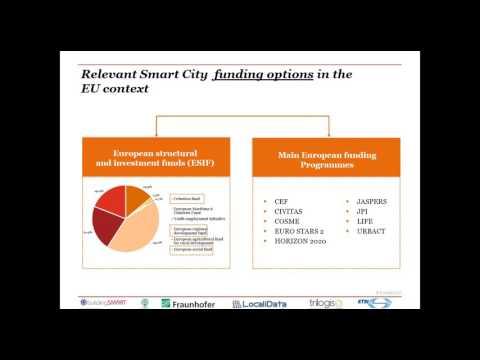 5th ESPRESSO Webinar - Funding and Procurement approaches applied to Smart Cities