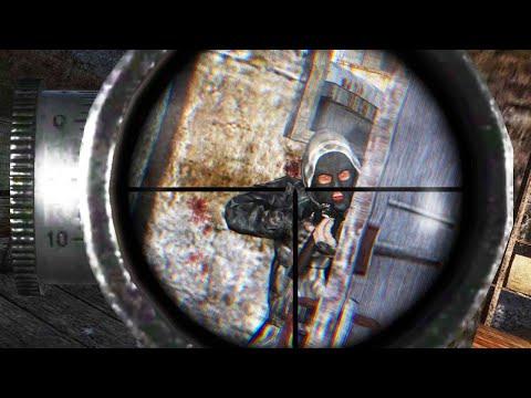 УНИЧТОЖЕНИЕ БАНДИТОВ. S.T.A.L.K.E.R. GUNSLINGER Mod + Misery 2.2 ОДНА ЖИЗНЬ #6