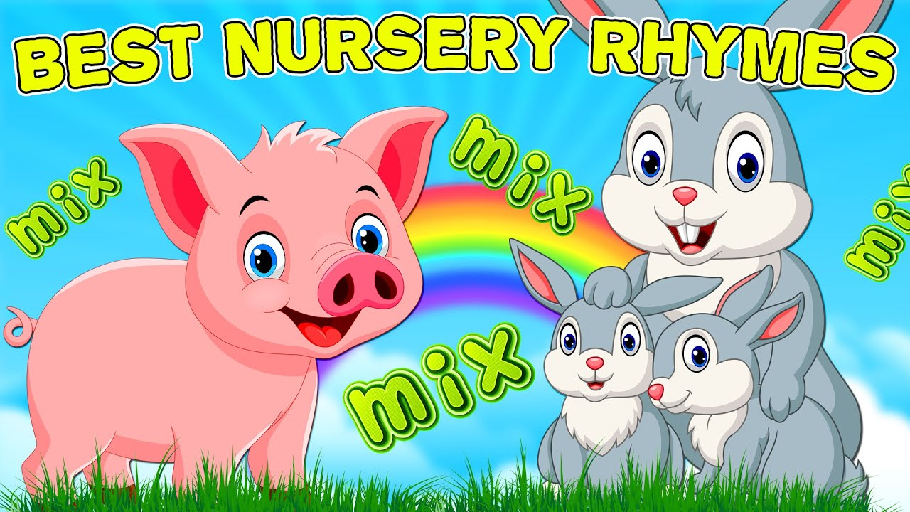 BEST Nursery Rhymes - MIX 2021 | NEW SONGS for KIDS | Sing-along | Music for babies | Compilation