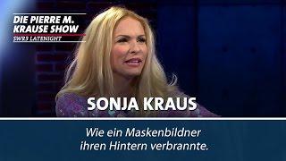 Sonya Kraus, ihr Poppes und das heiße Lockeneisen