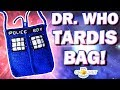 DR WHO TARDIS BAG - Crochet Pattern with Lining