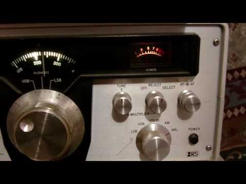 Realistic SX-190 shortwave radio tuning in more stations 2