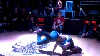 Shagy zoo ( Crazy Zoo) vs Aguado ( B.FreeBoy's ) [ Redbull Bc one Cypher Badajoz 2014 ]