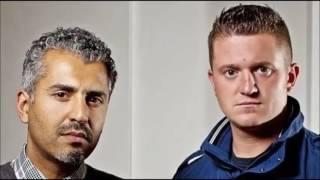Tommy Robinson surprise calls Maajid Nawaz on LBC - 09/04/2017