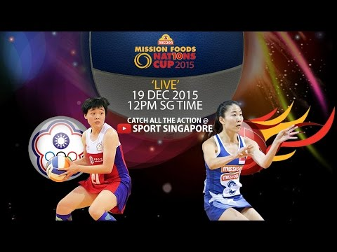 Netball: 5th & 6th Placing Match | Mission Foods Nations Cup 2015