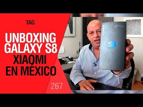 Unboxing Galaxy S8, Xiaomi en México, TV en Facebook y más - TAG #267 con @jmatuk