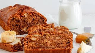 Best Banana Bread Recipe, No Mixer  HappyFoods