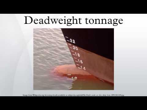 Deadweight tonnage