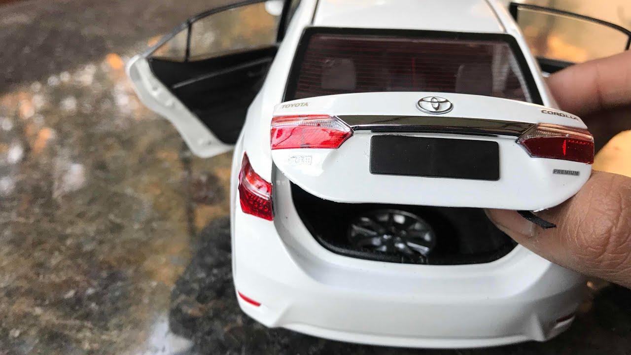 Diecast Unboxing 2014 Toyota Corolla Altis 1 18 Paudi