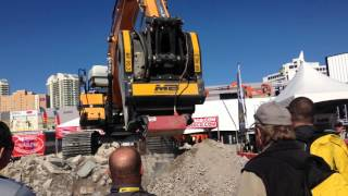 Video still for MB Crusher Live Demonstration at World of Concrete 2016