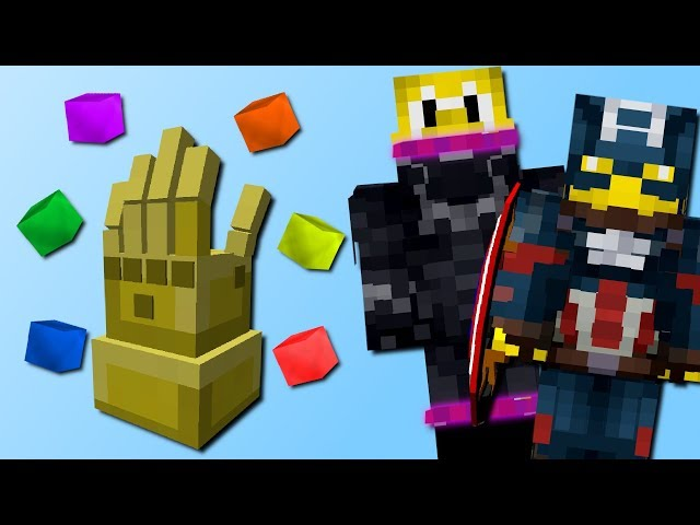 Wir werden zu Superhelden! (Thanos Handschuh, Black Panther, Superman) (Superhero Expansion Mod)