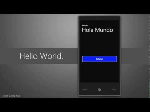 Hello World - Windows Phone