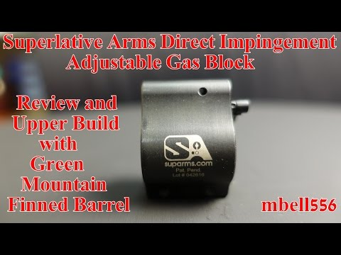 Superlative Arms Direct Impingement Bleed-off Adjustable Gas