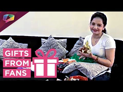 Giaa Manek Receives Gifts From Her Fans | Gift Segment
