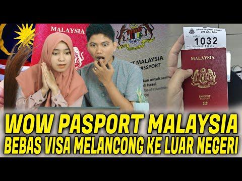 WOW!!! THE BEST KUASA PASSPORT MALAYSIA TERNYATA BISA KELILING NEGARA TANPA VISA