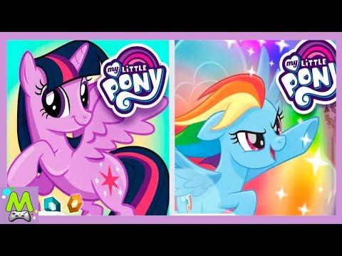 Сборник Лучших Игр My Little Pony/Спасение Понивилля и Волшебство Гармонии.Детский Летсплей Игры
