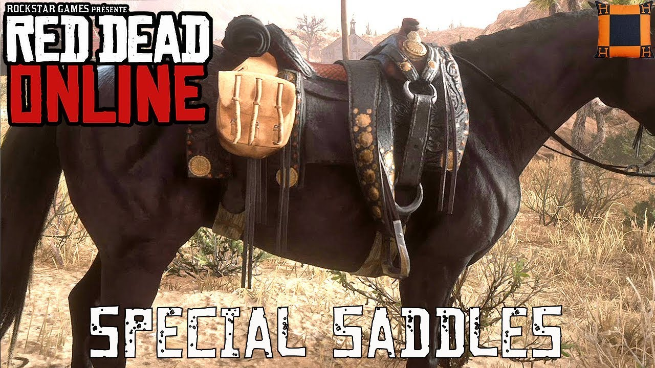 Red Dead Online - Special Saddles For Free