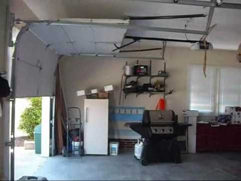 My Lift Master Garage Door Openers Belt Drive Wmv Youtube
