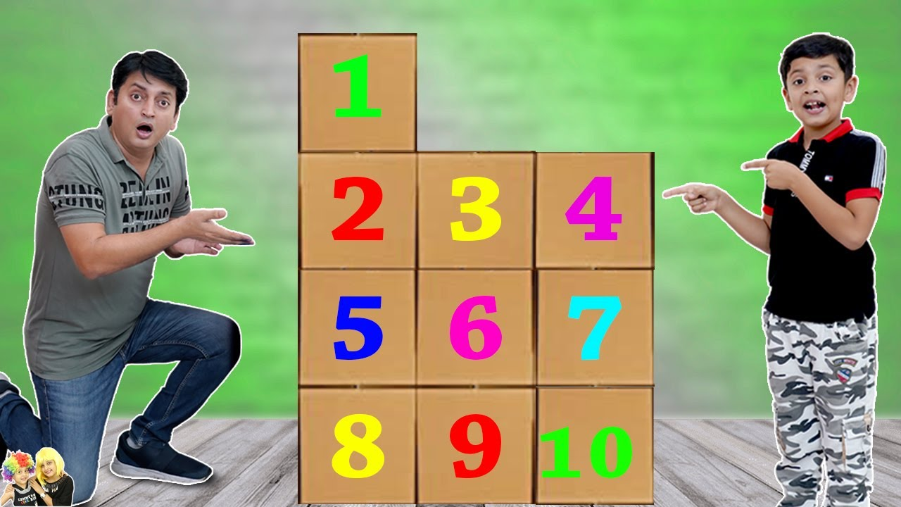 1 to 10 SURPRISE CHALLENGE | AAYU VS PAPA | Funny family challenge | Aayu and Pihu Show