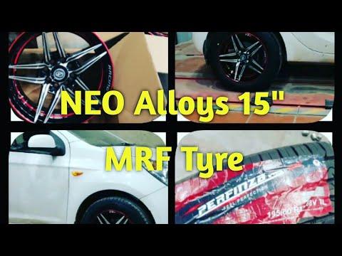Installed New Alloy Wheels On Hyundai I20 | MRF Tyre | Vlog Bazaar