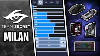 Secret Milan Fortnite Settings & Keybinds (Mongraal's Duo Partner)