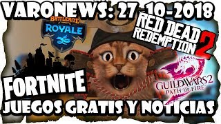 #Juegos #gratis and News: Guild Wars 2, Fortnite Save the World, Red Dead Redemption 2