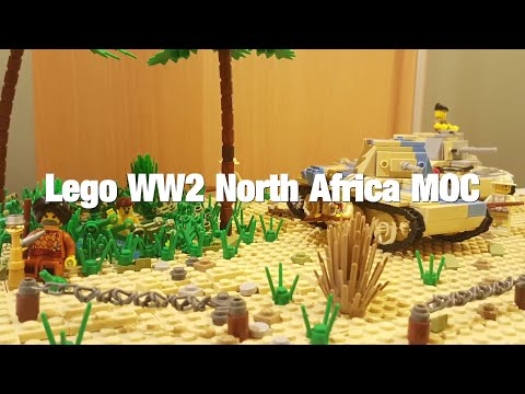 Lego WW2 North Africa MOC - Review