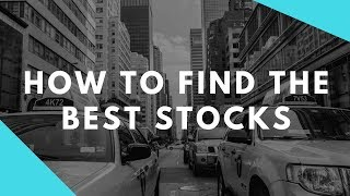 How To Invest In the Stock Market - Choose The Best Stocks in 2017