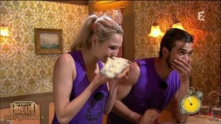 Fort Boyard 2015 - Camille Lou & Florent Mothe chez Willy Rovelli
