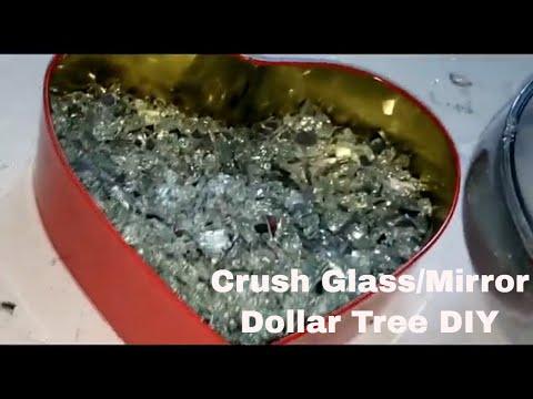 crushed-glass-/-mirror/-make-/-add-color-dollar-tree-diy