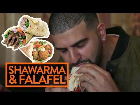 MIDDLE EASTERN SHAWARMA & FALAFEL w/ DRAKE? - Fung Bros Food