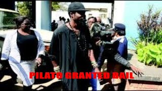 Musician, Pilato granted, bail, Killer Soldier put to rest 21 05 18