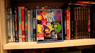 My DISNEY/PIXAR DVD AND BLU-RAY COLLECTION AS OF JANUARY 2019
