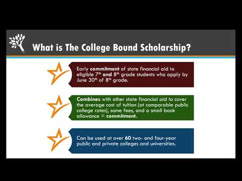 College Bound Scholarship Basics: For College Access Staff
