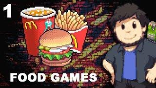JonTron - Food Games Part 1(rus vo)