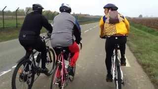 Le tour du Dimanche à vélo avec les amis