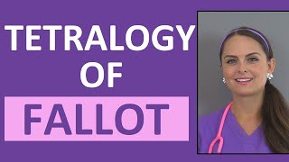 Tetralogy of Fallot Nursing NCLEX | Congenital Heart Disease Defects