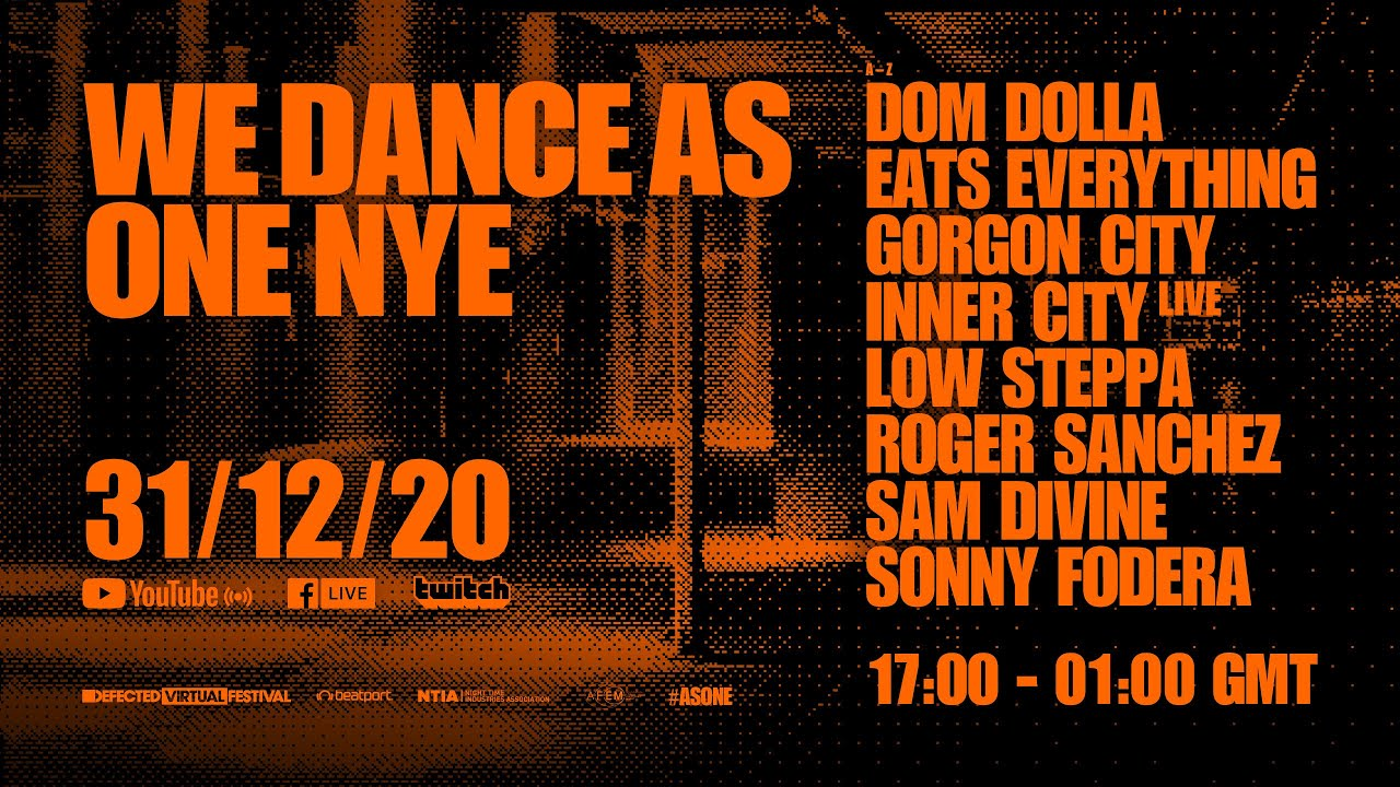 Defected Virtual Festival: We Dance As One 3.0 - #LiveStream - YouTube