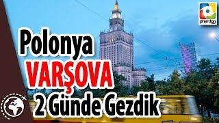 Polonya Varşova Seyahat Vlog - Poland Warsaw Travel Vlog