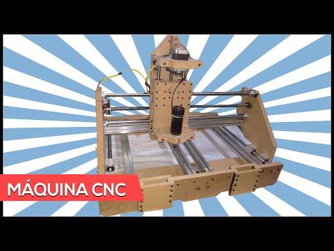 Conheça a nova Maquina CNC Fresadora do Canal !!