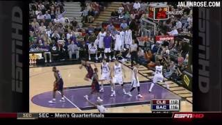 LeBron Leading MVP Race?  Jalen Rose Discusses on NBA Fastbreak 3/13/09