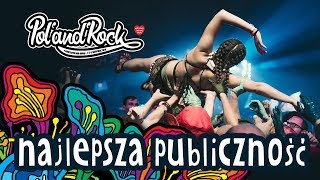 10 koncertów z najlepszą publicznością - 25 lat Pol'and'Rock Festival
