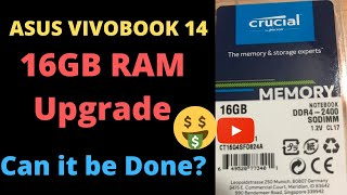 Asus Vivobook 14 Upgrade with 16GB to 4GB RAM Model TP412   Will be 20 GB Total SAVE MONEY