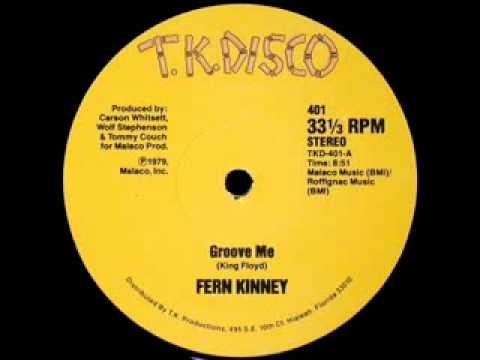 70's disco music -Fern Kinney - Groove me 1979