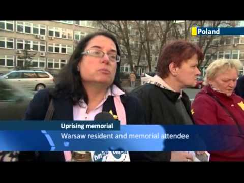 Warsaw Ghetto Uprising Anniversary: Warsaw residents remember Jewish ghetto victims