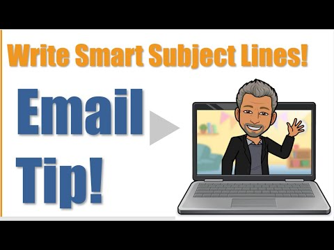 How to Write an Email Subject Line - YouTube